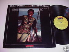 Esther Phillips with Beck: For All We Know LP - Soul