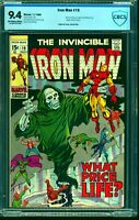 Iron Man #19 CBCS NM 9.4 Off White to White