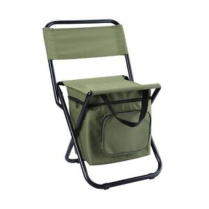Outdoor Folding Chair Portable Camp Fishing Lounge Set Lightweight Strong Stool