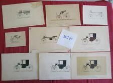 N°12341 / 7 planches couleurs hippomobile le guide du carrossier