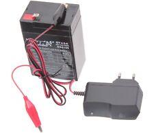 Batterie Gel-Akku 6V 4,5 Ah passt für Simson KR51 Schwalbe MZ Batterie Ladegerät