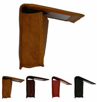 Genuine Leather Expandable Credit Card ID Business Card Holder Wallet COLOR