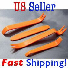 4pc Auto Car Radio Door Clip Panel Trim Dash Audio Removal Installer Pry Tools