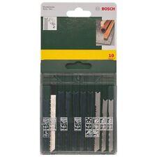 Bosch ushank hoja de Jigsaw Set 10 Surtido de madera y metal 2607019460 3165140415781 *