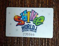 SHINee World J Official Fanclub Card Onew Jonghyun Taemin Minho Key 🇺🇲