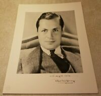 Vintage Robert Montgomery MGM METRO-GOLDWYN-MAYER Signed Publicity Photograph