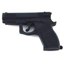 Black Real 8 GB Gun Revolver Style USB Flash Drive. S*