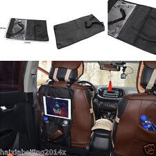 Car Back Seat Organiser Protect Tablet Holder Storage Bag For IPad Case Cover BK