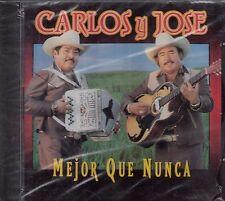 Carlos Y Jose Mejor Que Nunca CD New Sealed