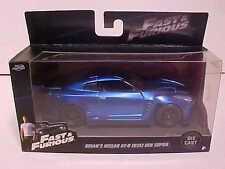 Fast & Furious 7 Nissan GT-R R35 Ben Sopra Diecast Car 1:32 Jada Toys 5 inch F8