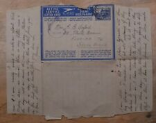 Mayfairstamps Egypt 1940s FPO 37 Censored Stationery Air Letter to South AFrica