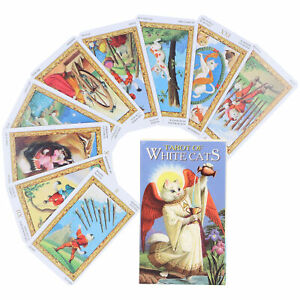 Tarot Cards Coated Paper Tarot Deck For Gaming Room For Playground For Children