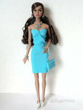 Poppy Parker Doll Clothes Sexy Dress, Purse & Jewelry Set HM Fashion NO DOLL d4e