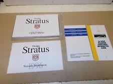 Mopar NOS Owners Manual Pkg.1996 Dodge Stratus