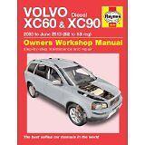 Haynes assistenza / riparazione manuale VOLVO XC60 & XC90 Diesel 03 - 13 52 a 13 5630