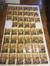 Simpsons Action Figure Sets - All Complete Except Series 4, 5 and 12 MIB