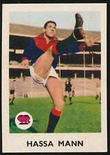 1965 Scanlens No. 8 Hassa Mann Melbourne Demons Card r