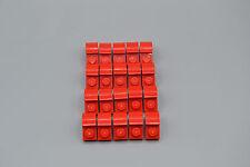LEGO 20 x Bogensteine 2x1x1 rot | red bow brick 6091 609121