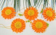 Dekorative Filz Blumen Girlande 100 cm Raumdeko Floristen Posten Frühjahr 5711
