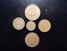 FOREIGN 20 P, WMF, JPM, EUROCLEAN A, AND BELL FRUIT 10P TOKENS!  YY276XXX