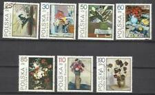 5828- VOLLE SERIE FLORES PLANTAS FLORA POLEN 1989 Nº 3237/44. GEBRAUCHT, PERFEKT