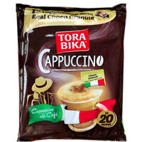 25g/ Bag Delicious 500g Coffee 20 Bags Cappuccino Instant Coffee Flavored Coffee
