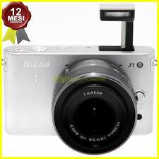 Fotocamera Nikon 1 J1 silver camera digitale mirrorless con obiettivo 10-30mm VR