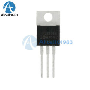10Pcs IRLB3034PBF IRLB3034 HEXFET Power MOSFET TO-220