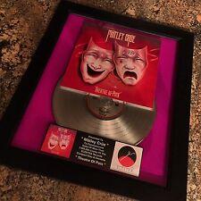 Motley Crue Theatre Of Love  Platinum Record Album Disc Music Award RIAA MTV