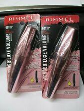 (2) Rimmel Wonder Luxe Volume Mascara Waterproof 001 Black