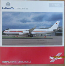 "herpa 1:200 - Luftwaffe - Airbus A340-300 - "" Konrad Adenauer """