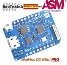 WEMOS D1 mini Pro - ESP8266 WIFI Board 16M bytes external antenna connector