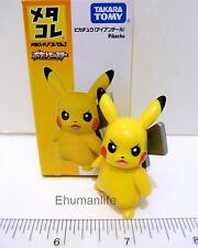 "2"" Takara Tomy Metacolle Tomica Pokemon Monster Diecast 025 Pikachu Mini Figure"