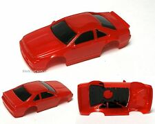 1992 TYCO Ford Thunderbird SC Test Shot Slot Car Body Unused HOT RED Prototype