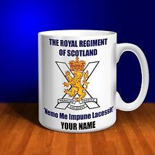 The Royal Regiment of Scotland Personalised Ceramic Mug Gift