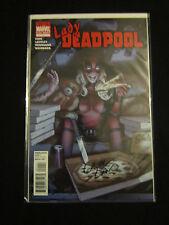Lady Deadpool 1 Dynamic Forces 141/200 Signed Greg Land VF/NM+ COA rare