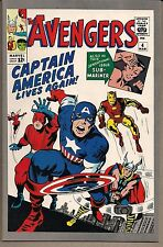 AVENGERS THE #4 MARVEL 1993 RARE LOW PRINT JC PENNEY REPRINT KEY1960'S BOOK VFNM