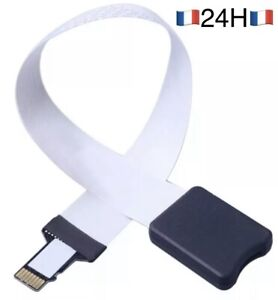 🇫🇷Câble d'extension flexible TF Pour carte micro SD 48CM Rallonge Sd Card🥇