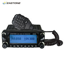 Zastone D9000 50W Car Walkie Talkie 50km Dual Band Mobile Car Radio Transceiver