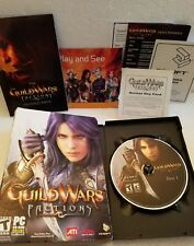 Guild Wars: Factions (PC) 2 disc with manuscript and key