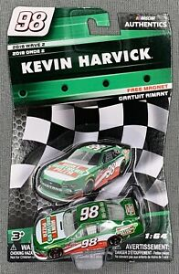 NASCAR AUTHENTICS #98 KEVIN HARVICK HUNT BROTHERS PIZZA W/ MAGNET - 2018 WAVE 2