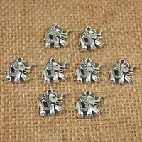 Lots 50 PC Tibetan Silver Crafts Making Jewelry Mushroom Charms Pendants 23*19mm