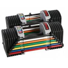 PowerBlock U32 Adjustable Dumbbells Selectable Weights Pair - 2-15kg Per Hand