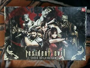 Bandai 2010 Resident Evil Deck Building Game Base Set 250 Cards + Manual