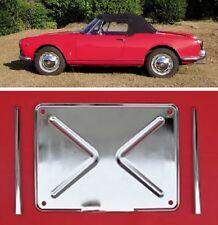 Porta targa post. con astine Alfa Romeo Giulietta e Giulia spider license plate