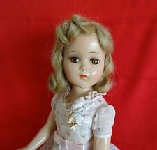 """GORGEOUS AND ALL ORIGINAL!!! Vintage 1940's """"NANCY"""" 18"""" Compo. Doll by Arranbee"""