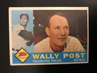 1960 Topps Wally Post #13 Philadelphia Phillies