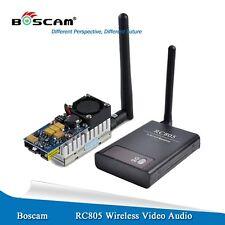 Boscam FPV 5.8Ghz 2000mW (*LOSrange>10km) Wireless AV Transmitter Receiver combo