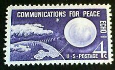 """US Scott # 1173  """"Echo 1-Communication For Peace""""  4 Cent  (1960) MNH OG F-VF"""