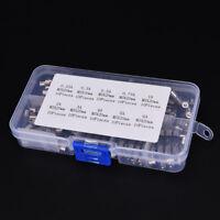 100X 250V 0.25-6A Blow Glass Tube Fuses 5x 20mm Assortment Kit Tube Fuse sc